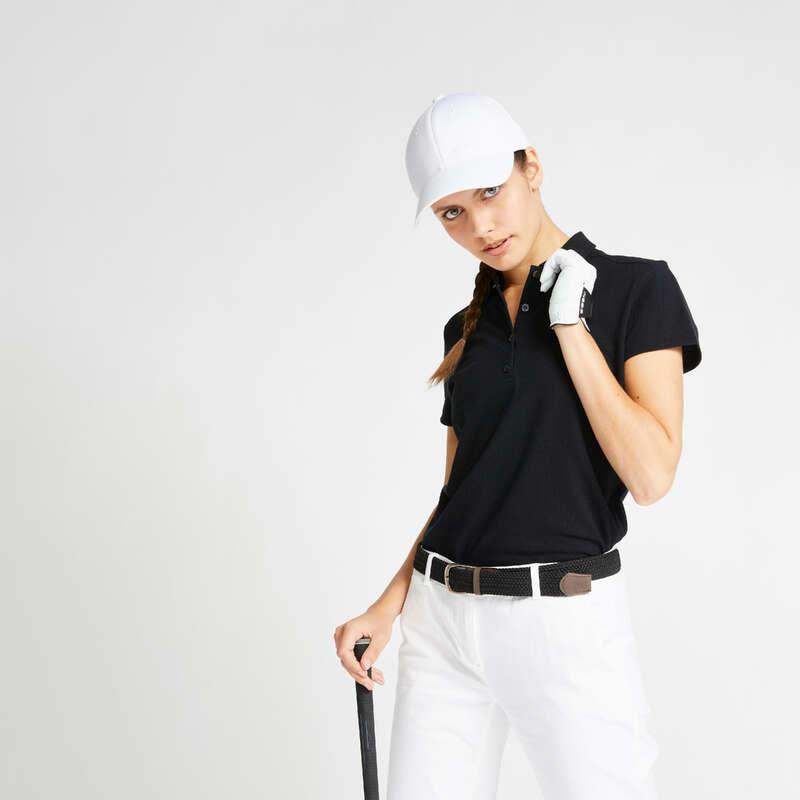 ŽENSKA ODJEĆA ZA GOLF ZA UMJERENO VRIJEME Golf - Majica kratkih rukava MW500 INESIS - Golf