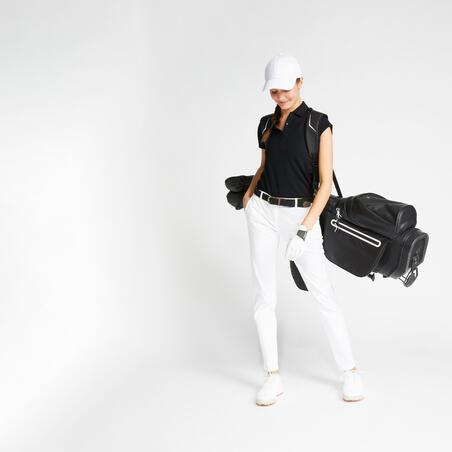 Kaus Polo Golf Wanita - Hitam