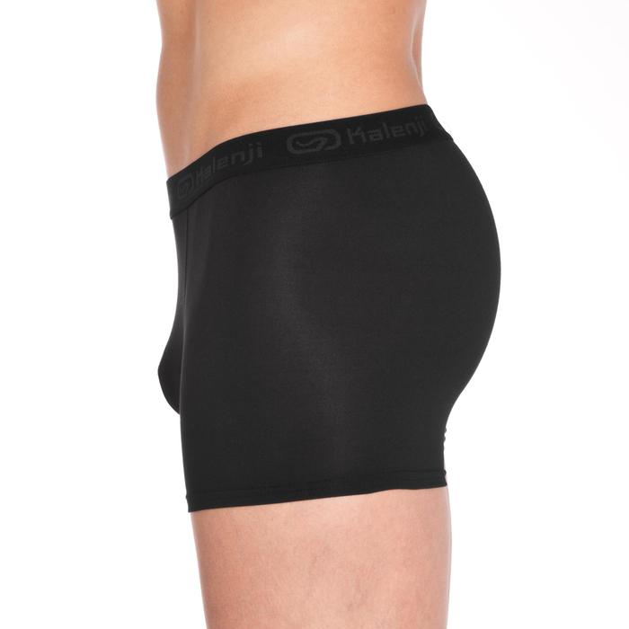 Men's Running Breathable Boxers Prussian Blue - 21095