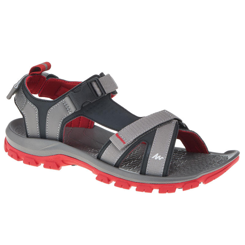 4533ff9bf All Sports>Hiking and Trekking>Hiking>Hiking Shoes and Sandals>Men's Sandals  NH110 - Grey & Red