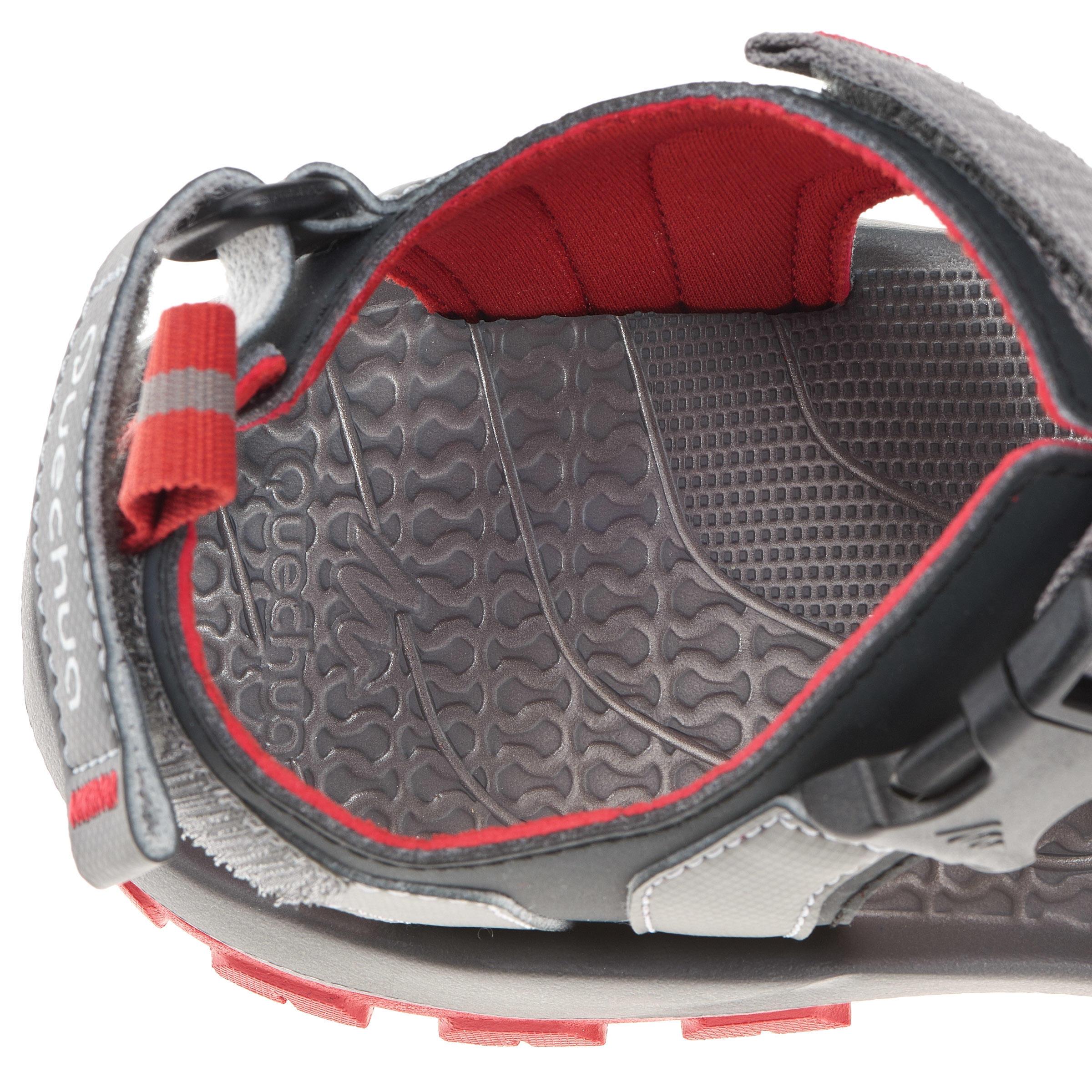 Arpenaz 100 Men's Backpacking Sandal Grey