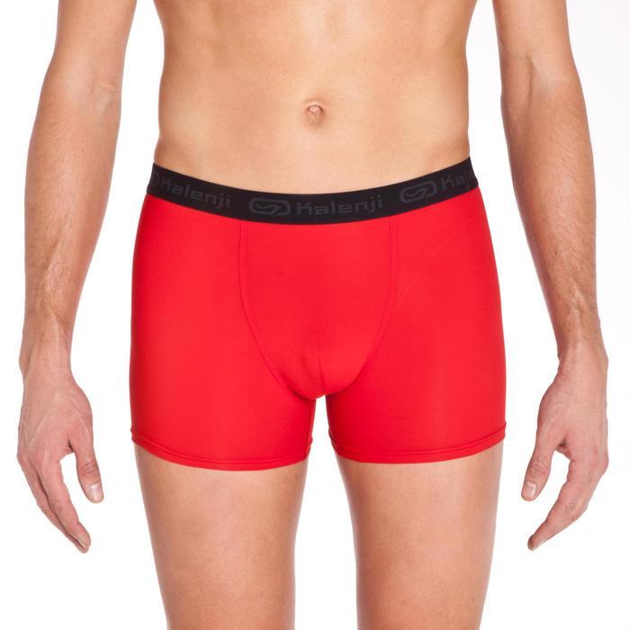Boxer Running hombre transpirable rojo