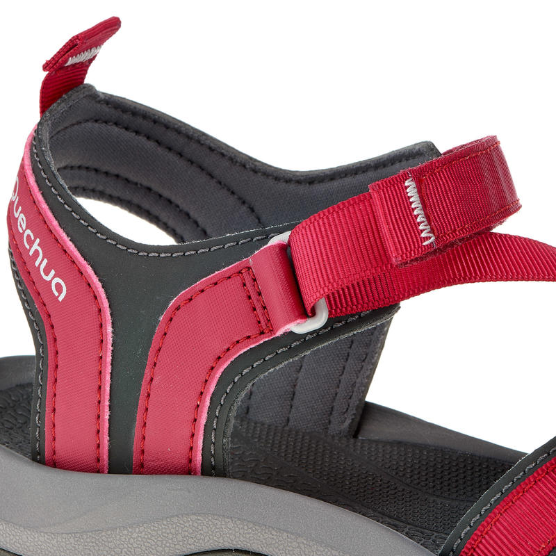 Sandalias de Excursión Arpenaz 100 mujer Rosado