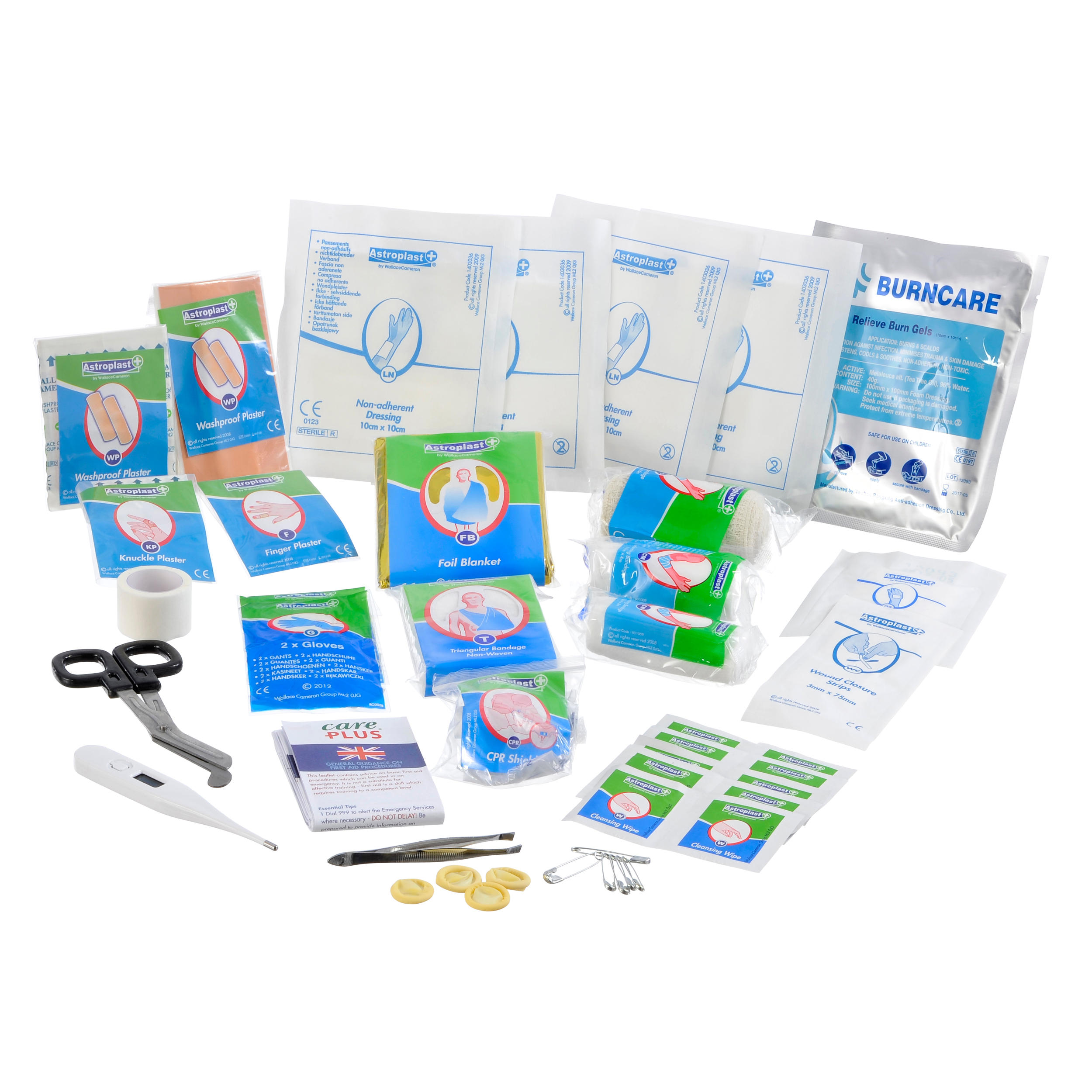 Care Plus First Aid Kit Waterproof Set