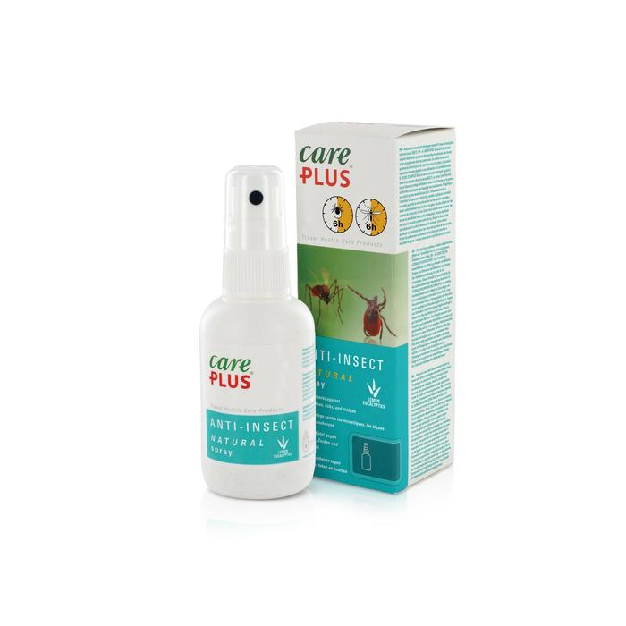 Spray anti insectes naturel CARE PLUS - Eucalyptus citronné - 60 ml