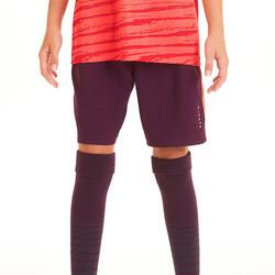 Calções de Futebol Menina F500 Violeta
