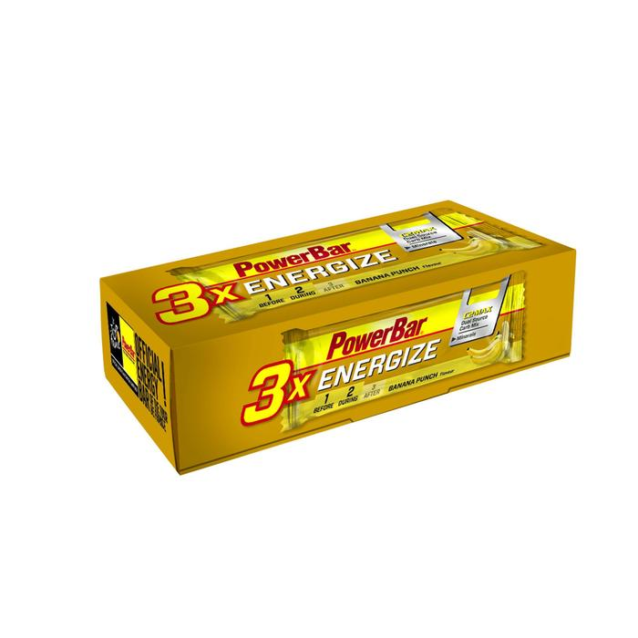 Energy-Riegel Fruchtriegel Energize C2MAX Banane 3 × 55 g