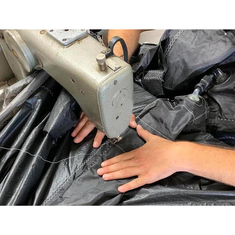 Réparation déchirure bord d'attaque ou latte de -20 cm kitesurf