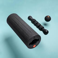 3合1 普通版按摩工具套裝(按摩滾筒、按摩球、按摩棒)