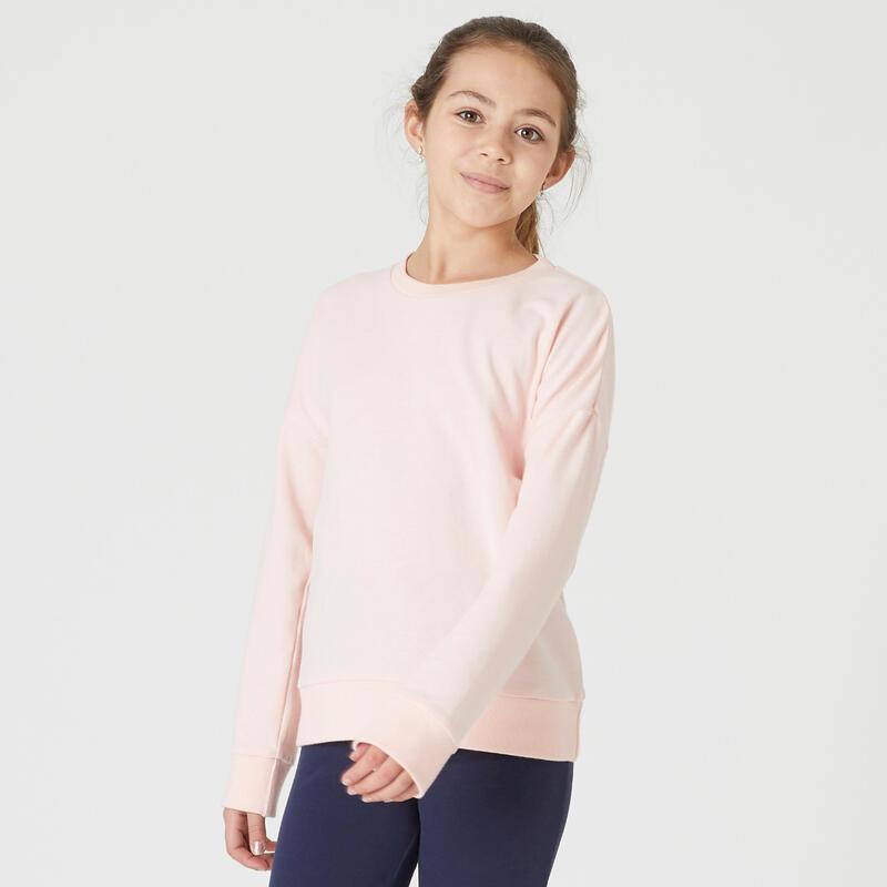 Kids' Crew Neck Sweatshirt - Pink