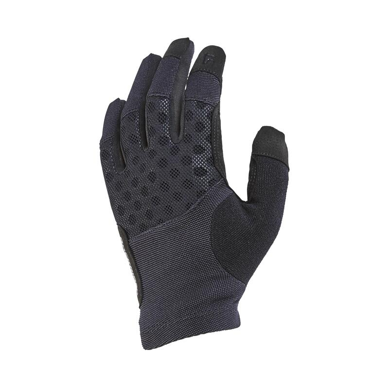 Cyklistické rukavice na horské kolo ST500 černé