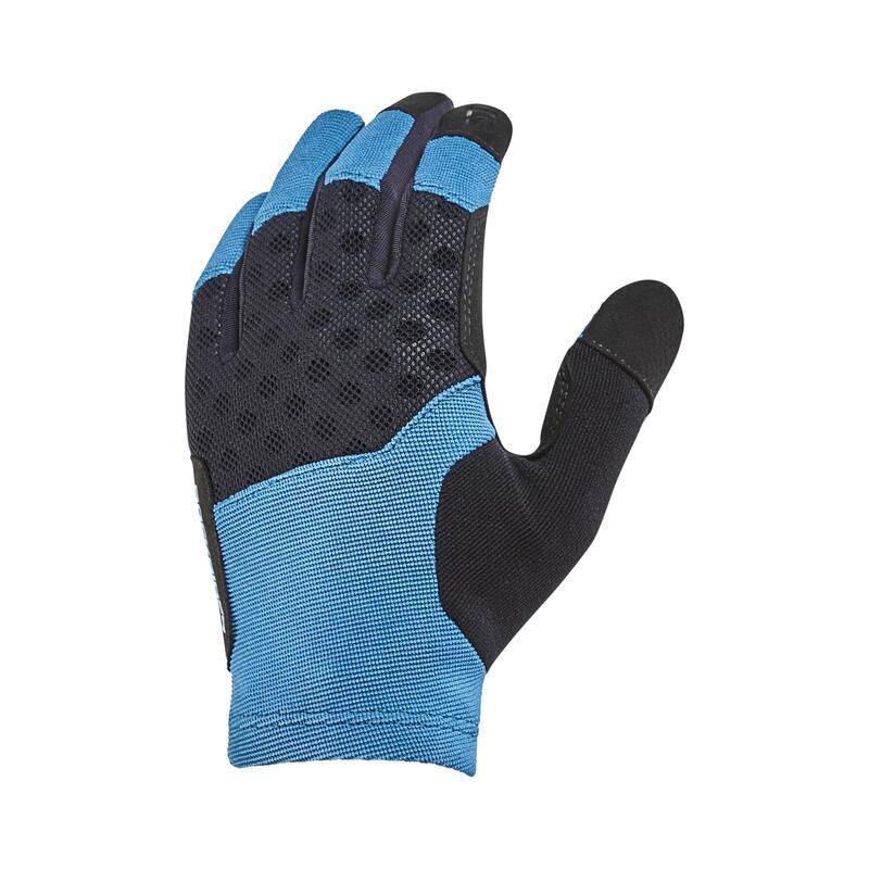 Cyklistické rukavice ST500 na horské kolo tyrkysové