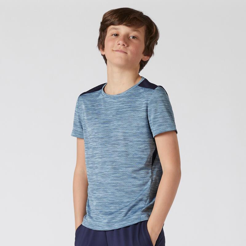 Çocuk Tişört - Mavi - S500 Gym