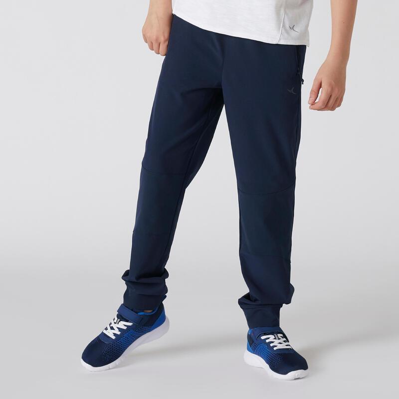 Pantalon de trening rezistent W500 educație fizică băieți
