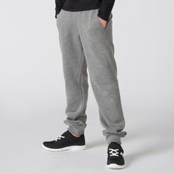 Jogginghose Basic mit Taschen Kinder grau