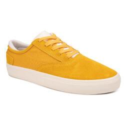 Calçado Vulcanizado de Skate Adulto VULCA 500 II Amarelo/Branco