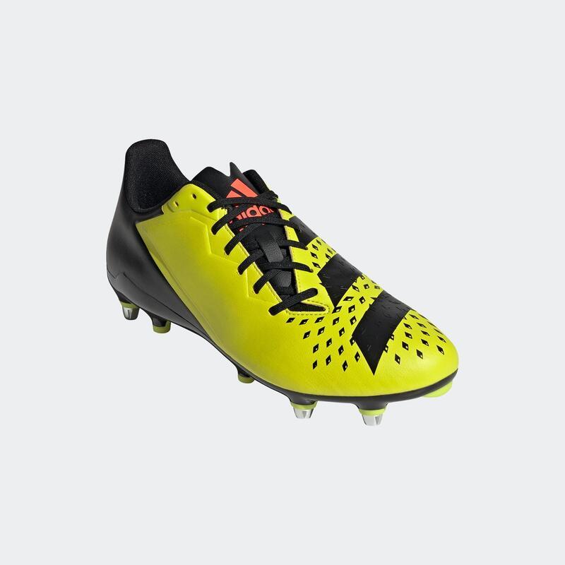 Chaussures de rugby vissée hybride terrain gras Malice SG adulte Adidas