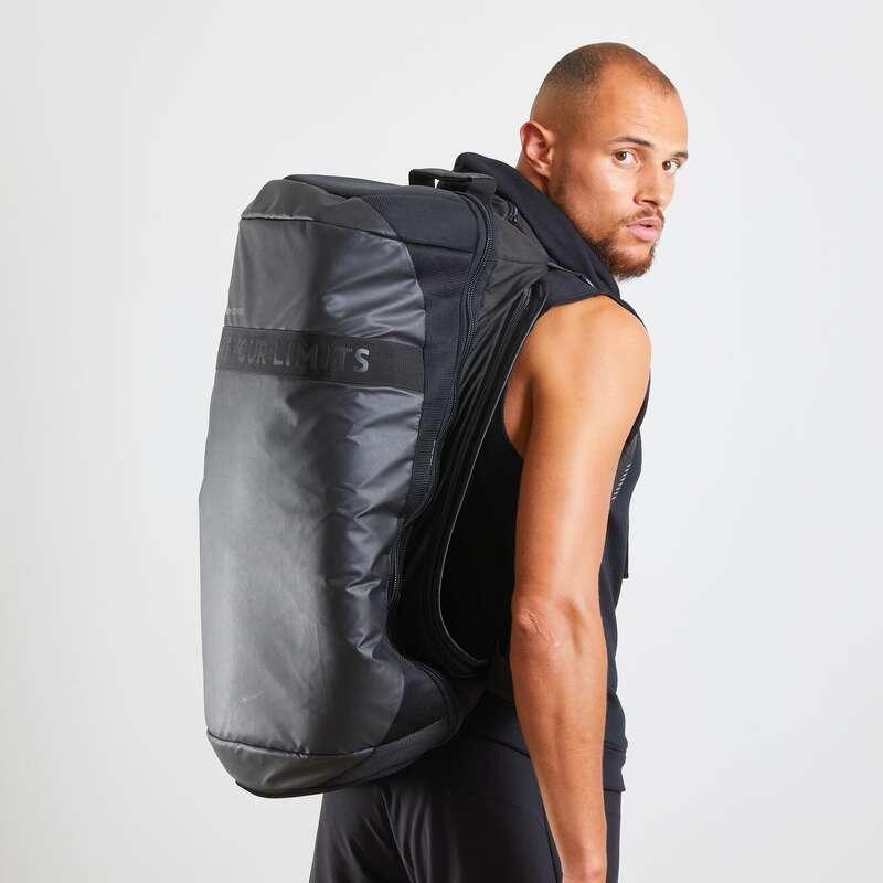 TORBE ZA BOKS Borilački sportovi - Sportska torba 900 60 l crna OUTSHOCK - Dodaci za karate