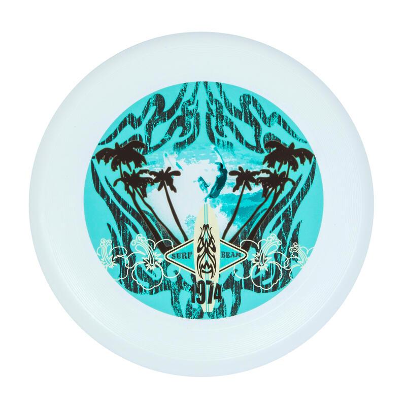 Disco volador Ultimate de bioplástico ilustración surf