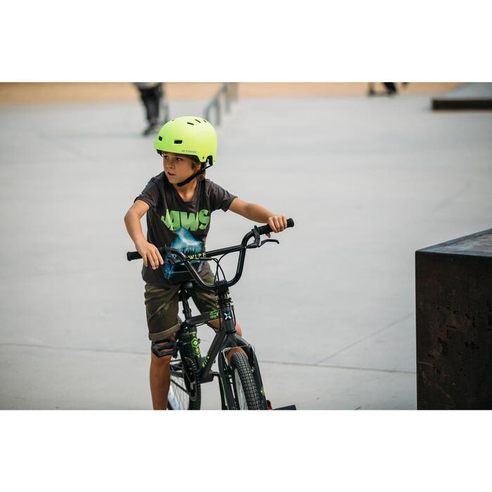 Kinder BMX Wipe 300 grijs