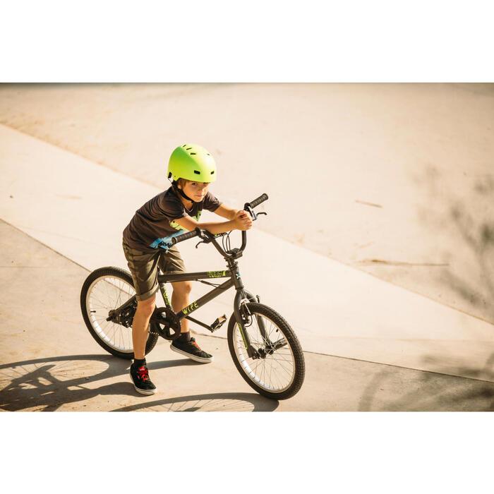 BMX ENFANT WIPE 300 GRIS - 211713