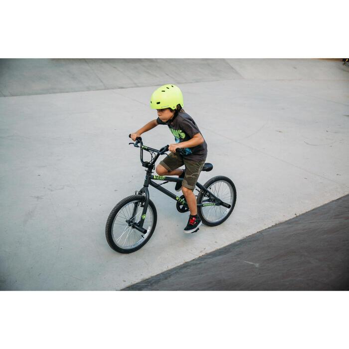 BMX ENFANT WIPE 300 GRIS - 211719
