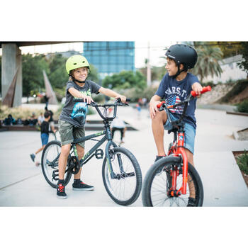 Kinder BMX Wipe 300 grijs - 211724