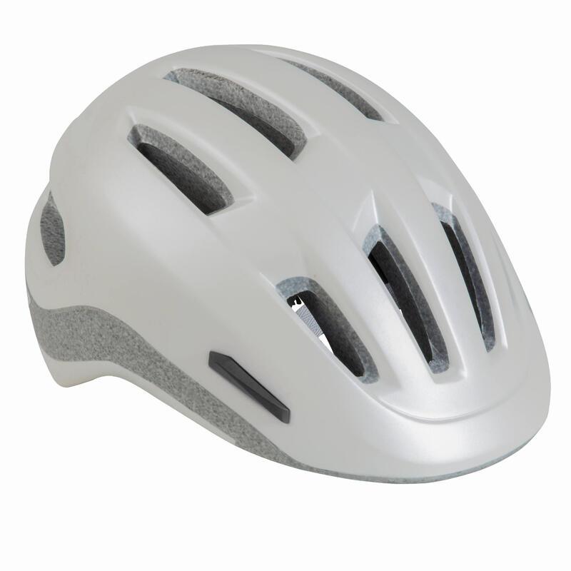 Şehir Bisikleti Kaskı - Beyaz - 500