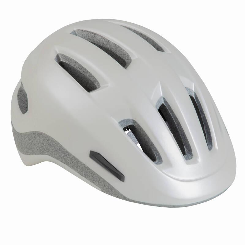 URBAN BIKE HELMETS Cyklistika - CYKLISTICKÁ HELMA 500 BÍLÁ BTWIN - Cyklistické vybavení