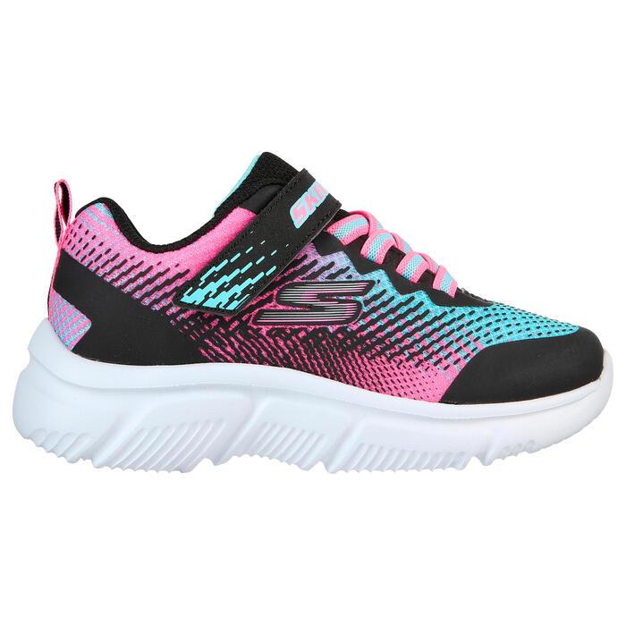 Skechers GO RUN 650 velcro children's walking shoes