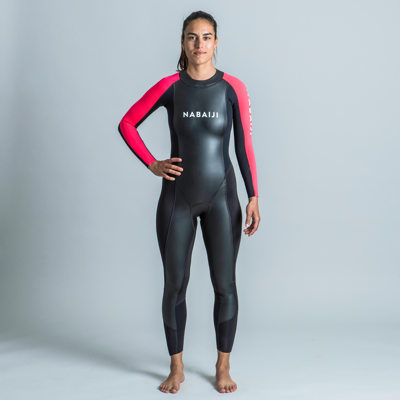 Neopreen dameswetsuit voor zwemmen in open water 2/2 mm