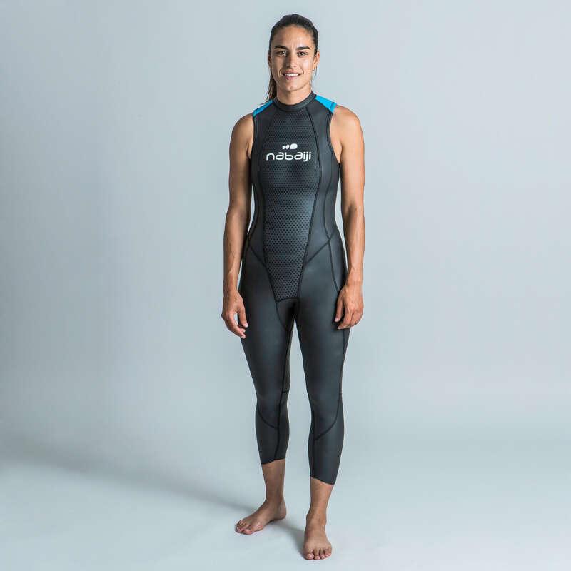 SIMNING I ÖPPET VATTEN Triathlon - Våtdräkt NEOPREN 2/2 Dam NABAIJI - Triathlonutrustning