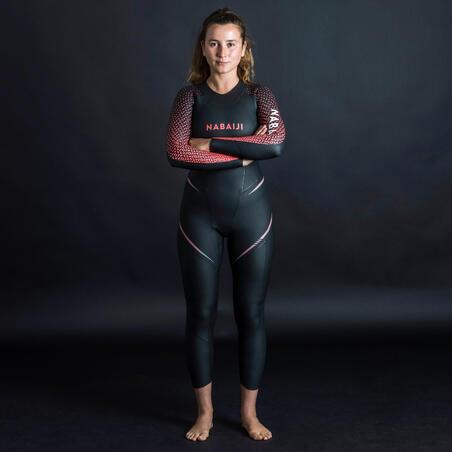 Women's Swimming 4/2 mm Neoprene Wetsuit OWS