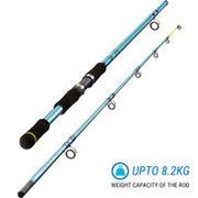 SEA FISHING ROD SEABOAT-1 240/2 - GREY BLUE