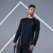 Men's Tennis T-Shirt Thermic TTS - Black