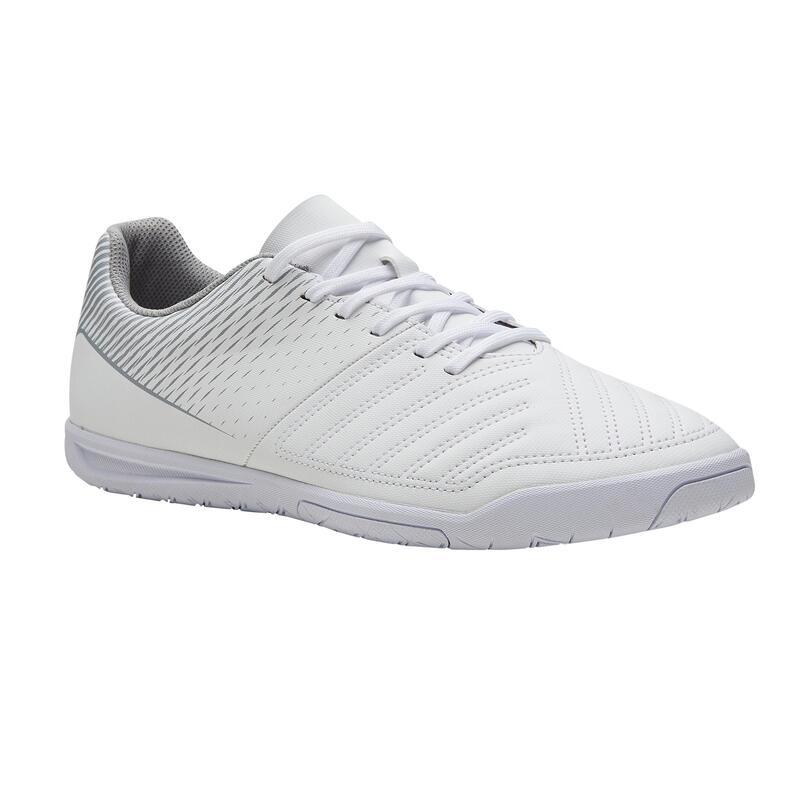 Sapatilhas de Futsal 100 Adulto Branco