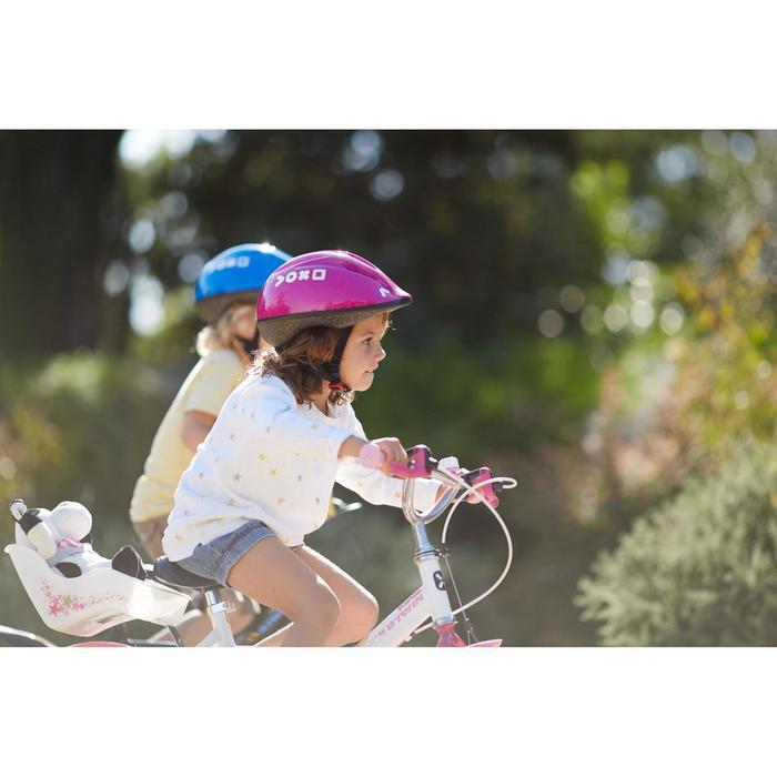 Fahrradhelm Kinder 300 violett
