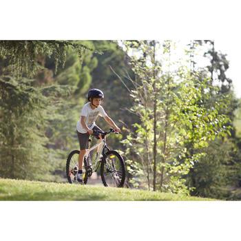 """Mountainbike 24"""" Rockrider 300 Kinder weiss"""
