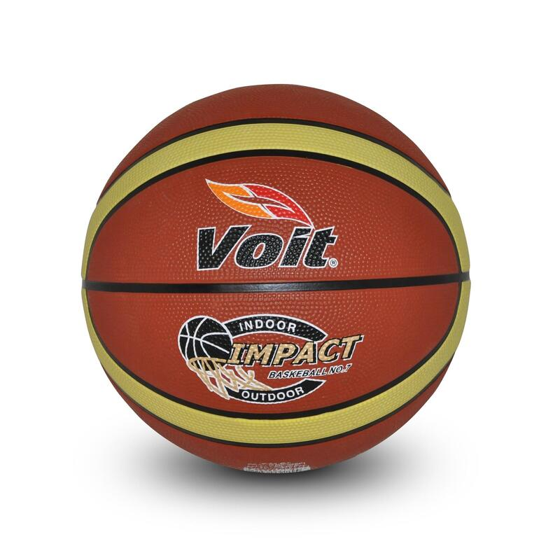 Basketbol Topu - 7 Numara - Kahverengi - Impact