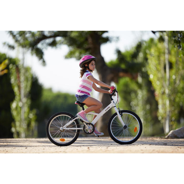 Kinderfiets 20 inch, Mistigirl 300 Single, wit