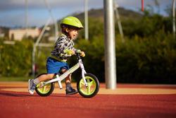 Loopfietsje 10 inch Run Ride 100 wit - 212162