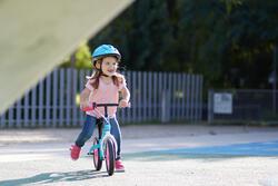 Loopfietsje voor kinderen 10 inch Run Ride blauw/roze - 212219
