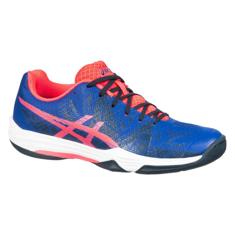 Zapatillas Squash Asics Fastball 3 Mujer Azul/Naranja