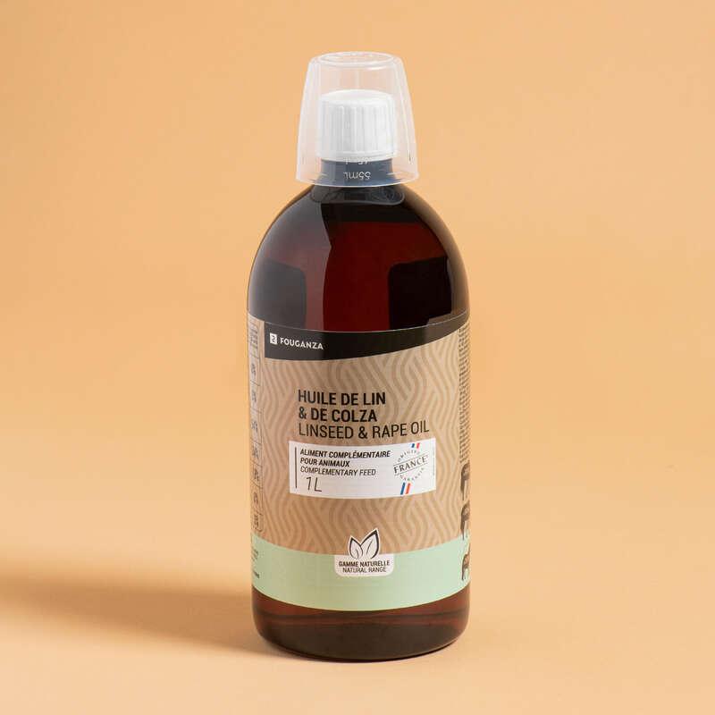 COMPLEMENTS ALIMENTAIRES Ridsport - Vegetabilisk olja 1 L FOUGANZA - Tillskott, Vitaminer Och Hästgodis