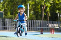 Loopfietsje 10 inch Run Ride MTB blauw - 212256