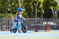 Loopfietsje 10 inch Run Ride MTB blauw - 212257