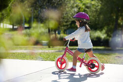 Loopfietsje 10 inch Run Ride Rose City - 212278