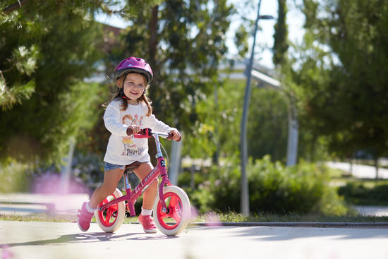 Draisienne enfant 10 pouces Run Ride Rose City