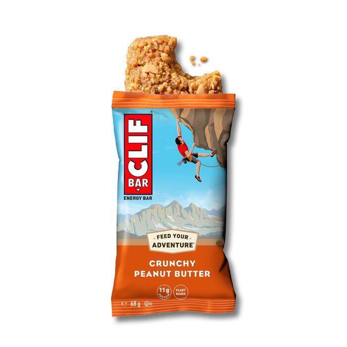 Energy-Riegel CLIF BAR Crunchy Peanut Butter 12×68 g