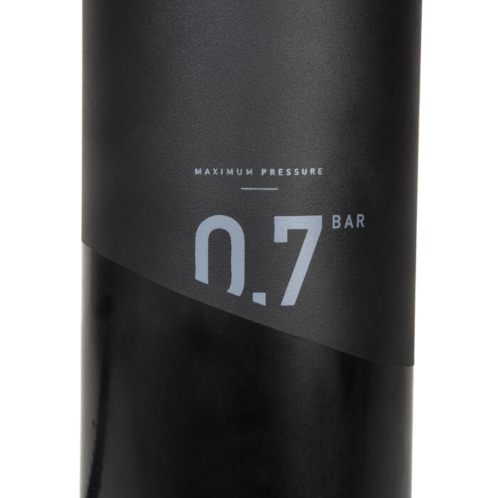 Kajak-Handpumpe Doppelhub Niederdruck 0–10 PSI